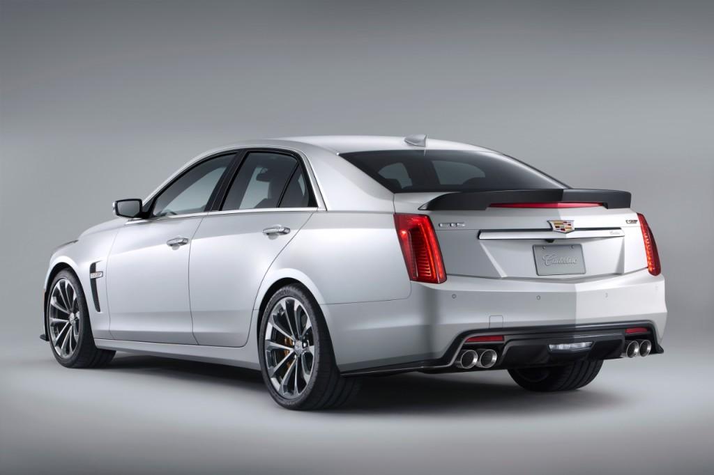 Cadillac CTS-V 2016 rear