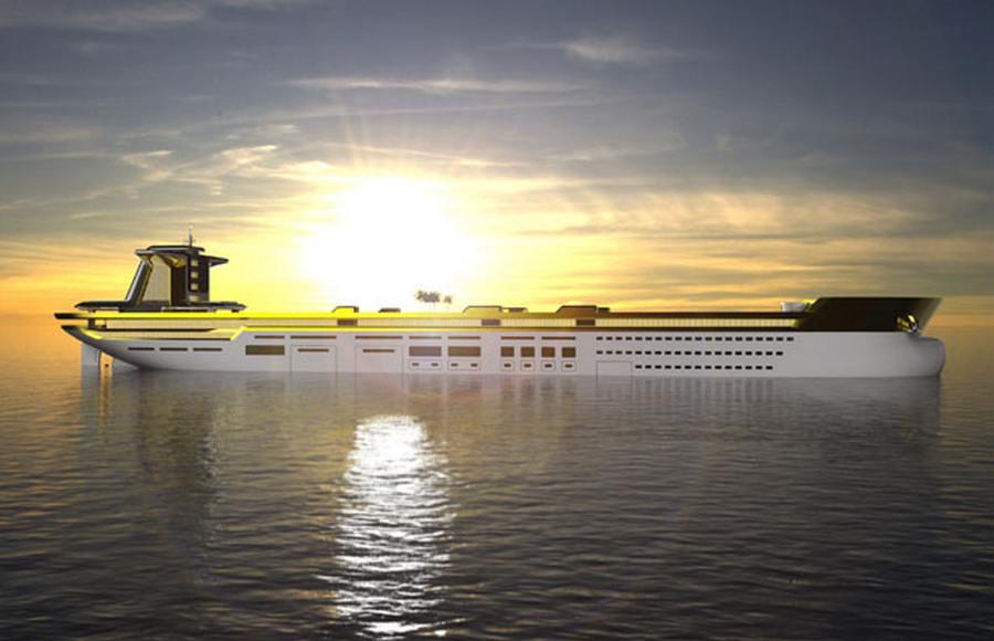 luxusni tanker jachta imara