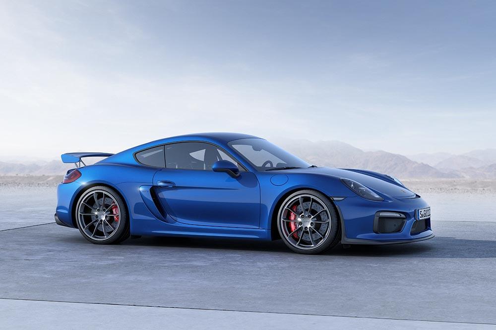 2016 Porsche Cayman - GT4