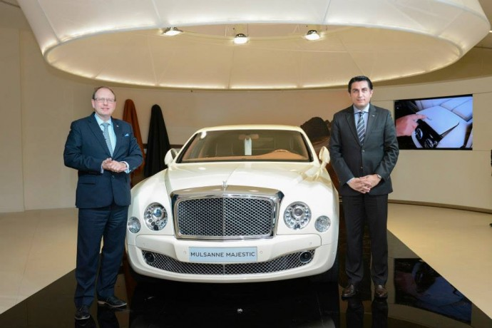 Bentley Mulsanne Majestic – limitovaná edice