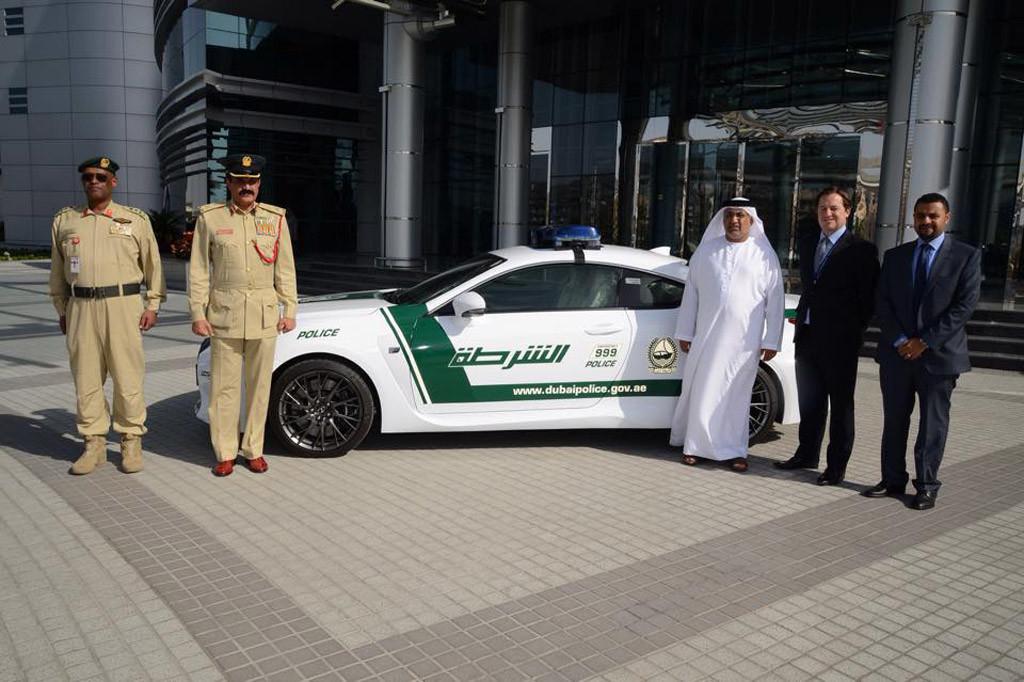 Lexus RC F - Dubai Police