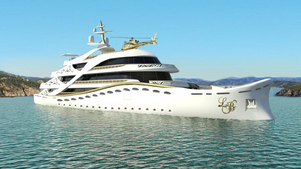 Luxury yacht Lidia Bersani La Belle