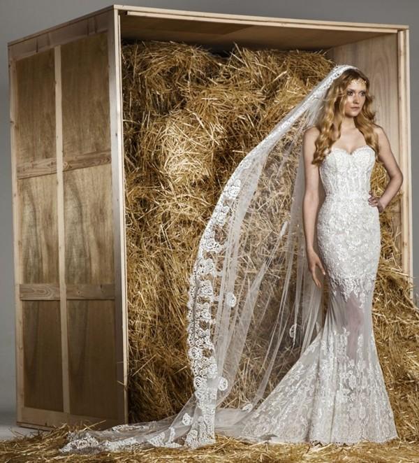 Luxusní svatební šaty - Zuhair Murad Spring Summer 2015