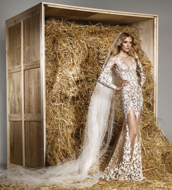 Luxusní svatební šaty Zuhair Murad Spring Summer 2015