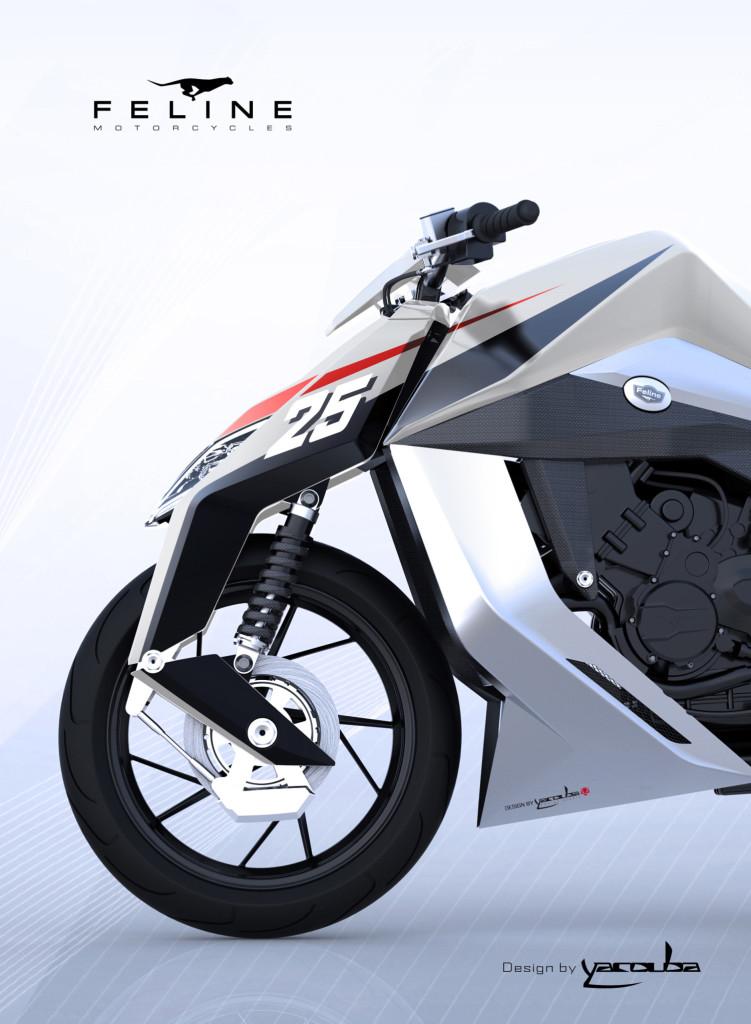 Luxusni motocykl FELINE One