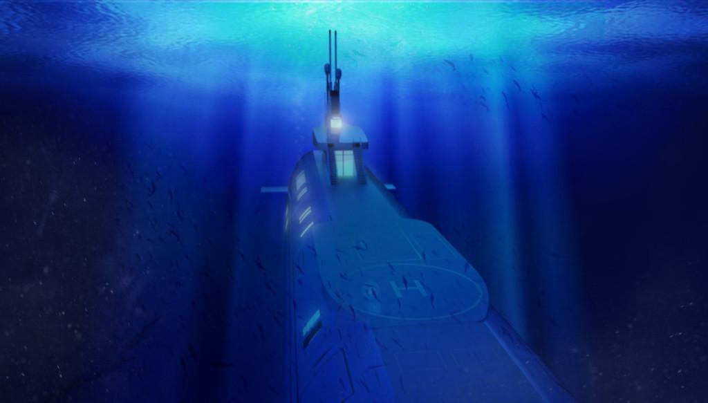 Luxusni ponorka - Migaloo