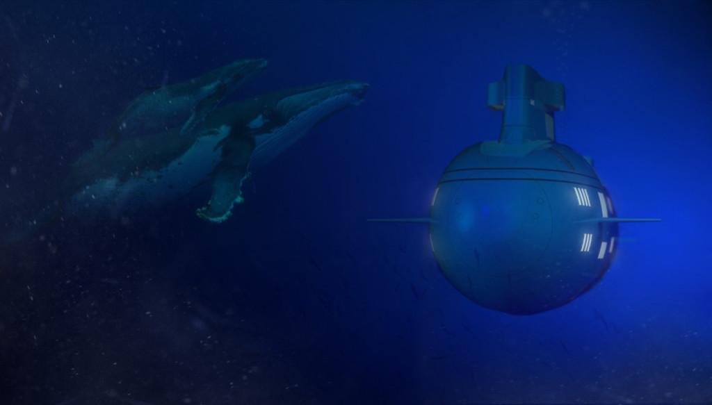 Luxusni ponorka Migaloo
