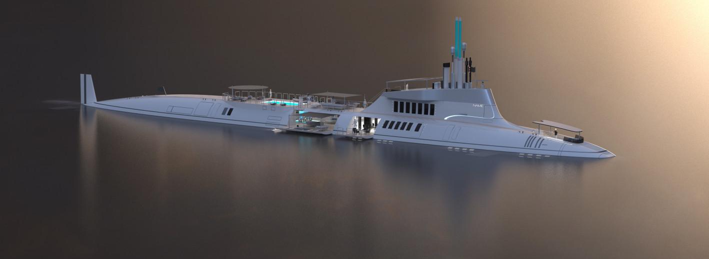 Migaloo luxury submarine