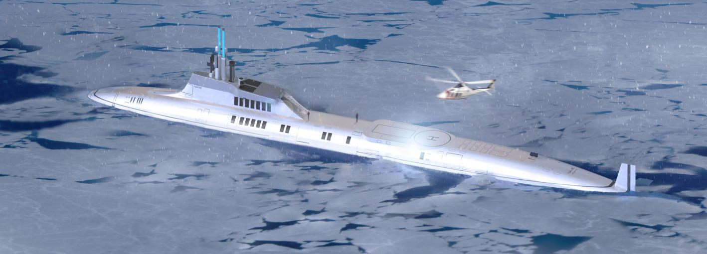 Migaloo luxusni ponorka