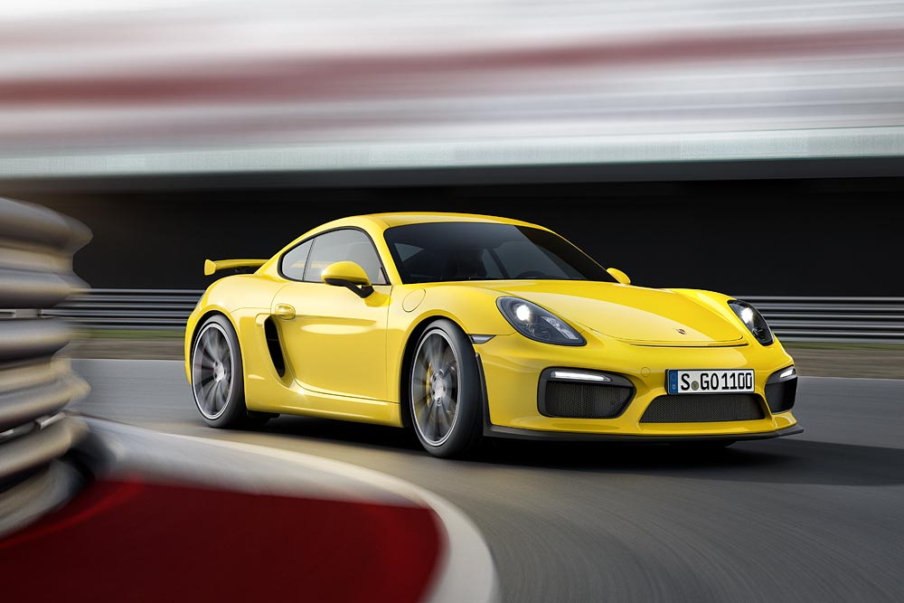 Nove Porsche Cayman