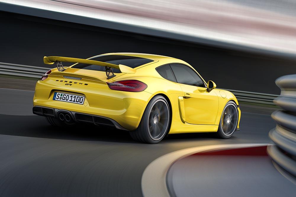 Porsche Cayman GT4 - 2016