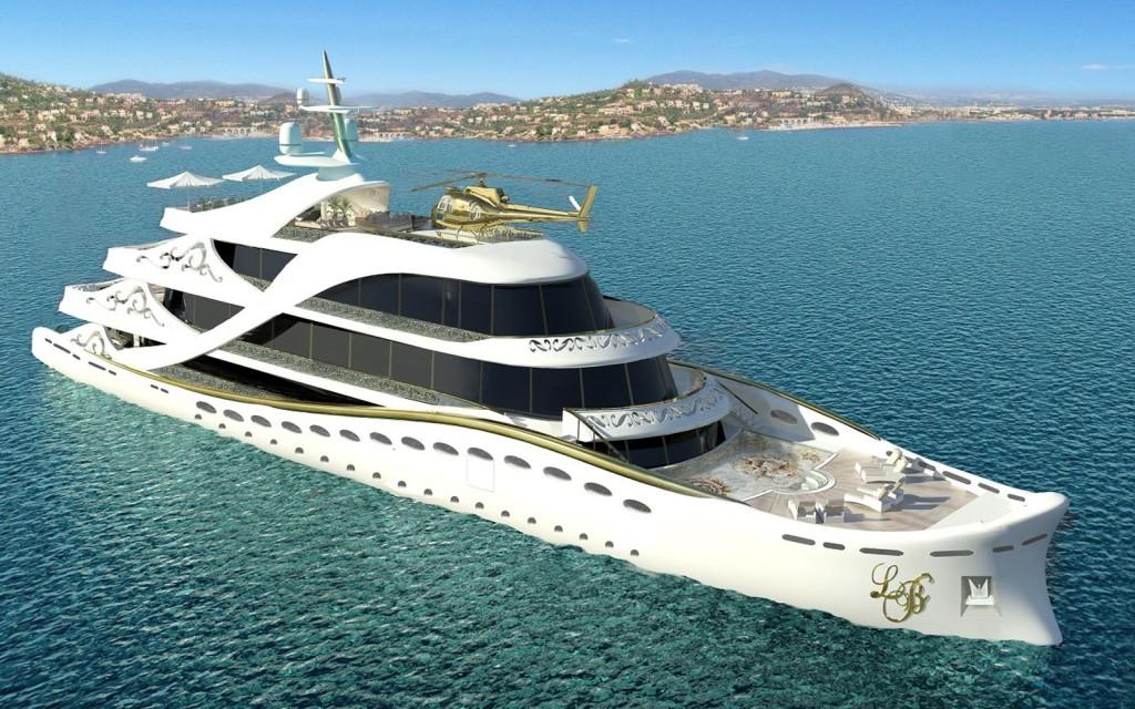 luxusni jachta Lidia Bersani La Belle