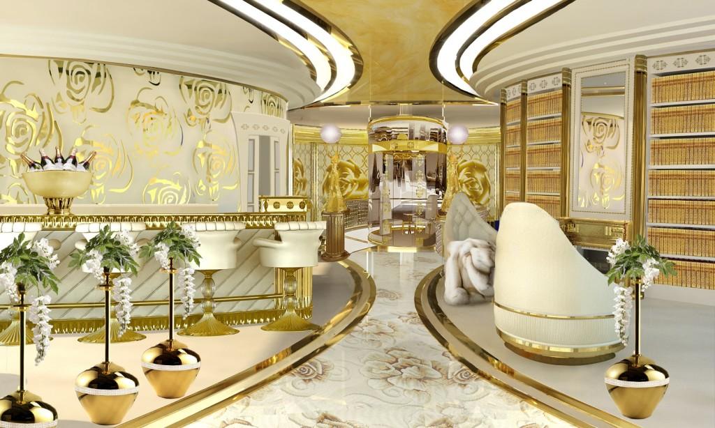 luxusni jachta Lidia Bersani Luxury Design La Belle