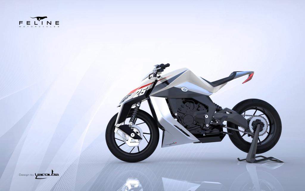 luxusni motorka Feline ONE
