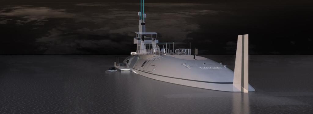 luxusni ponorka jachta migaloo