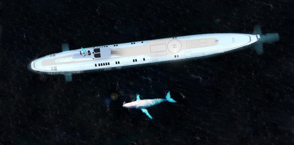 luxusni soukroma ponorka Migaloo