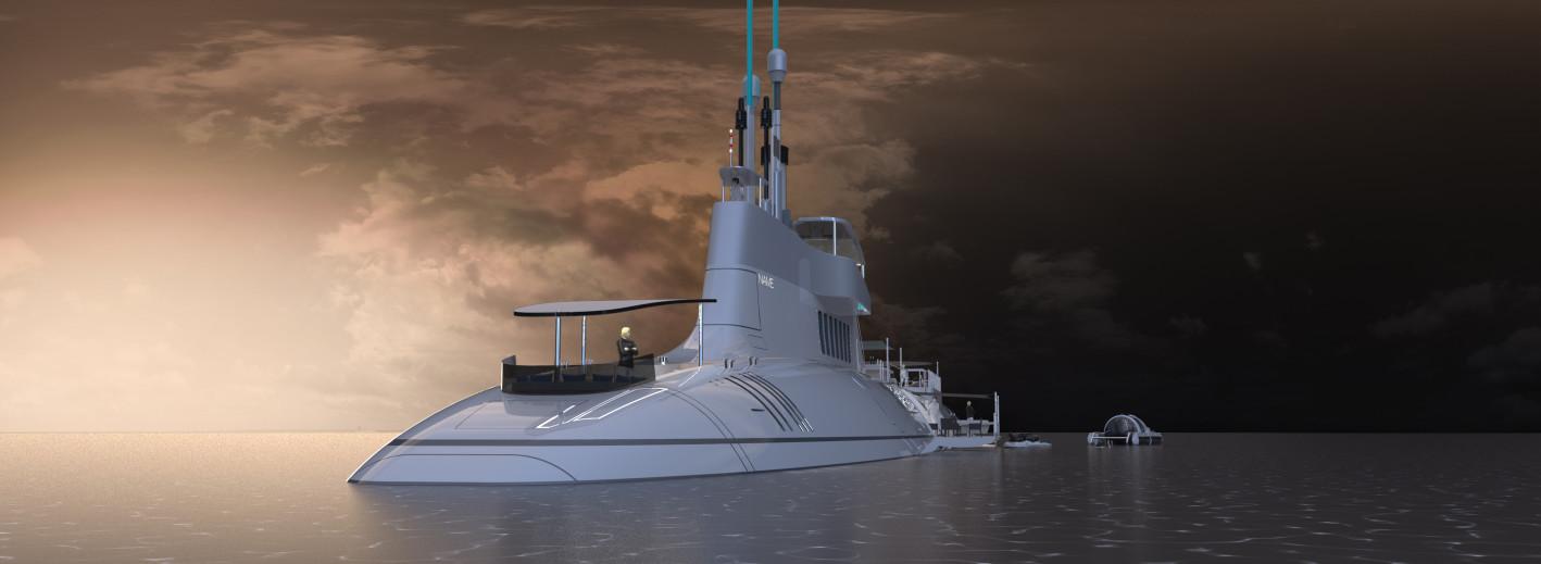 soukroma luxusni ponorka Migaloo
