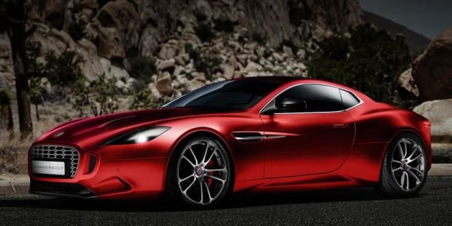 Aston Martin Vanquish Thunderbolt Concept