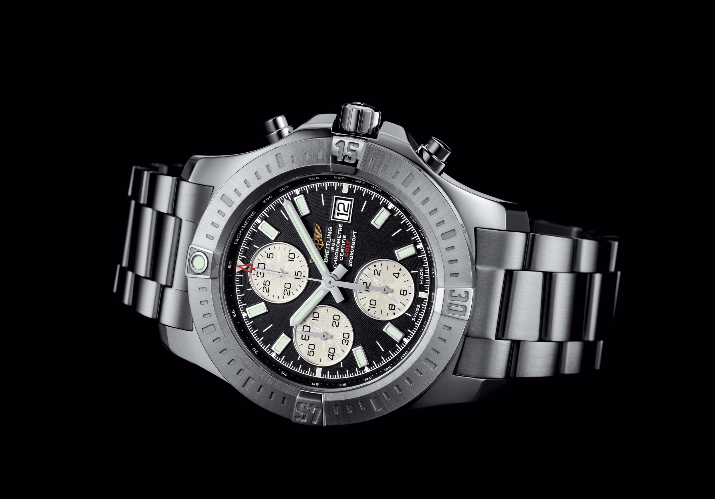 breitling colt chronograph automatic. Black Bedroom Furniture Sets. Home Design Ideas