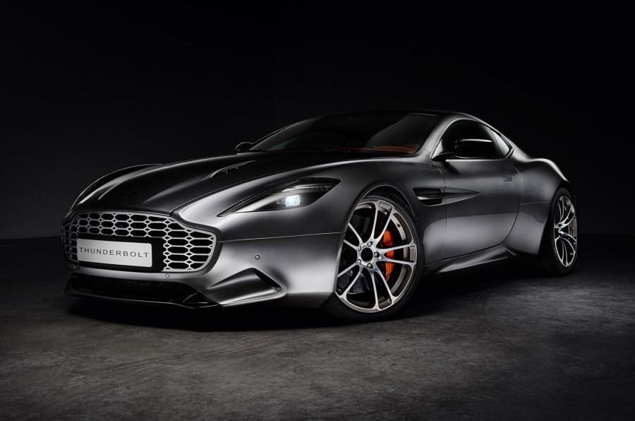 Henrik Fisker Aston Martin Vanquish Thunderbolt Concept