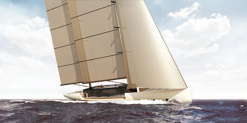 Luxusní plachetnice Lujac Desautel SALT 5