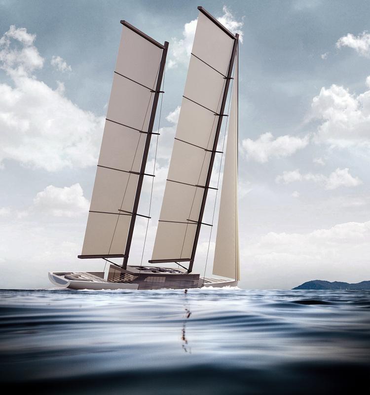 Luxusní plachetnice Lujac Desautel SALT 6