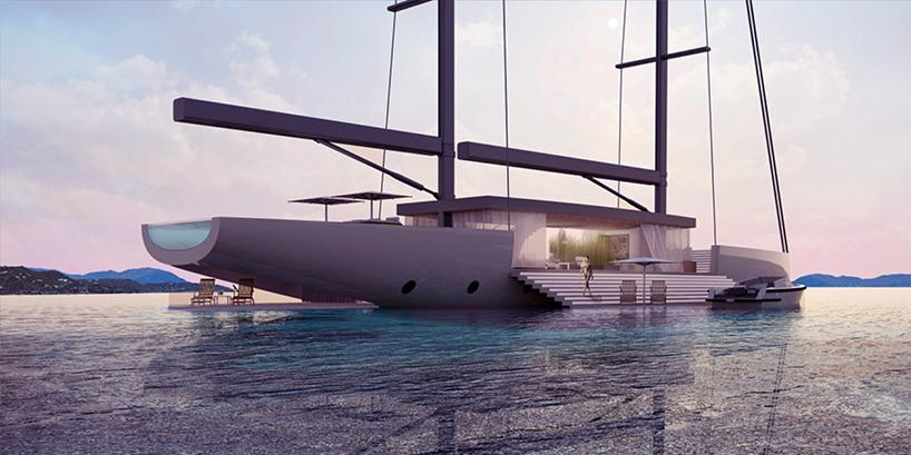 Luxusní plachetnice – Lujac Desautel SALT