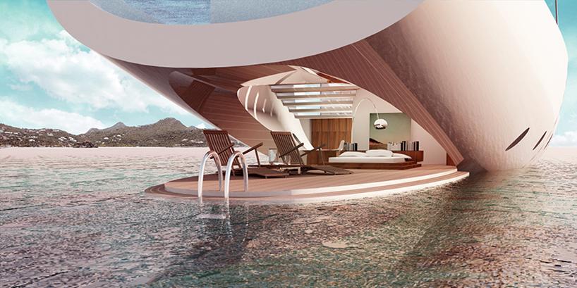 Luxusní plachetnice Lujac Desautel SALT 3