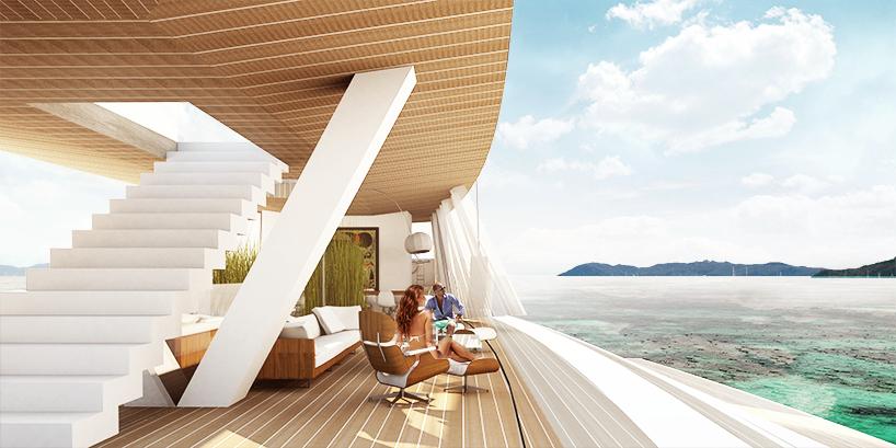 Luxusní plachetnice Lujac Desautel SALT 7