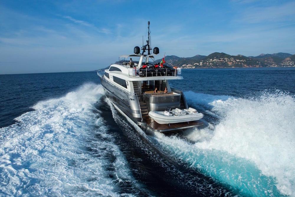 luxusni jachta Next Episode Wim van der Valk