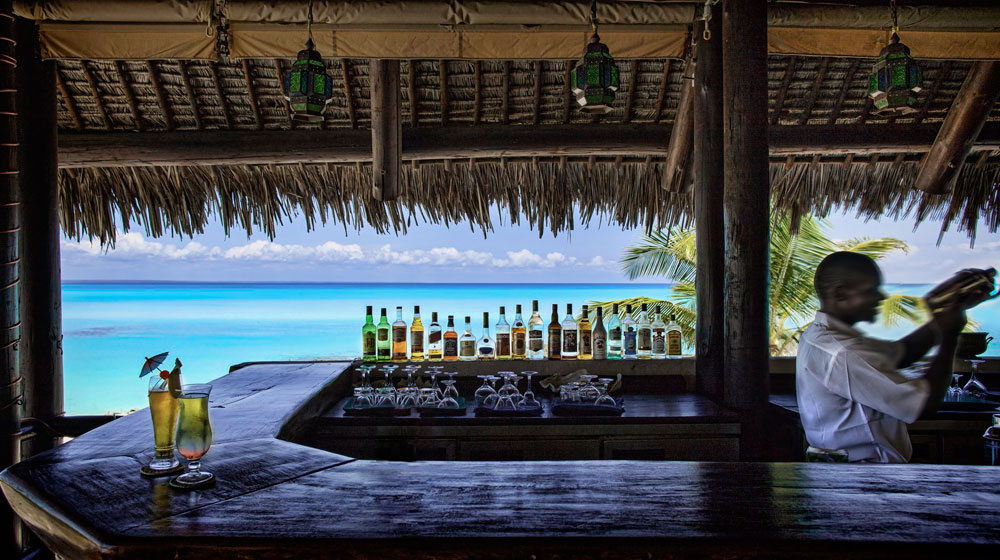 Anantara Medjumbe Island Resort & Spa - bar