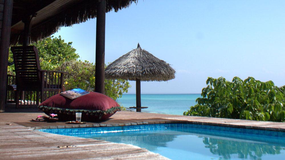 Anantara Medjumbe Island Resort & Spa - mosambik bazen pool