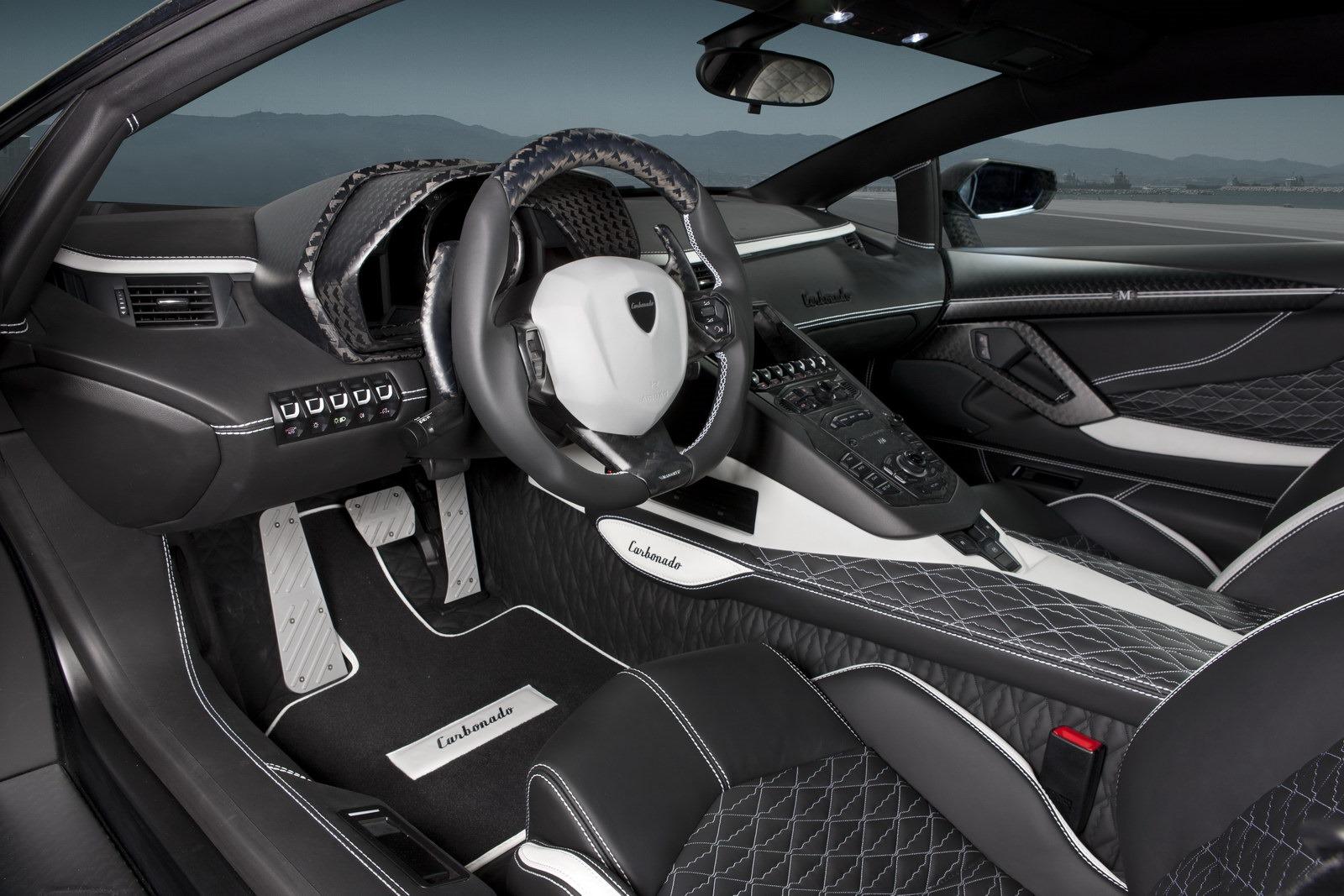 Black Diamond Mansory Carbonado Lamborghini Aventador LP700-4