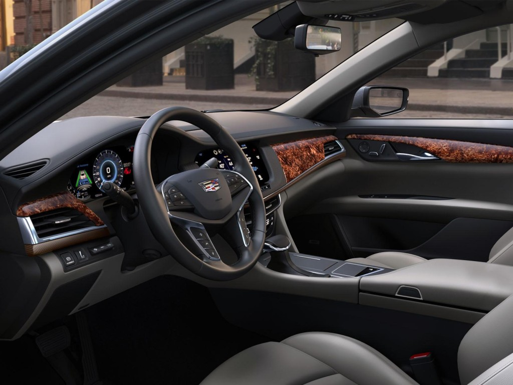 Cadillac CT6 2016 interier