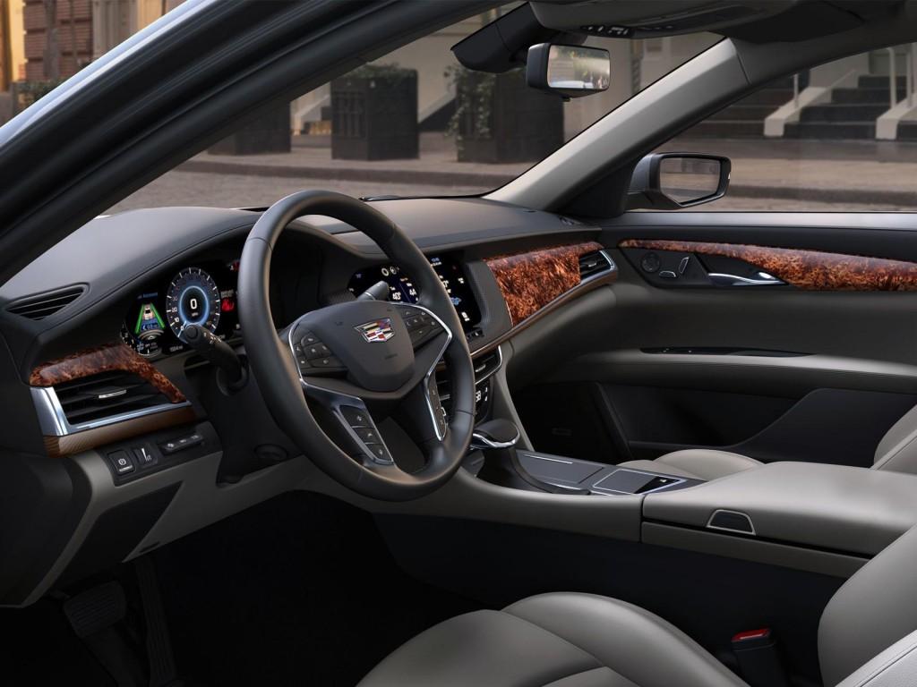Cadillac CT6 2016 interier