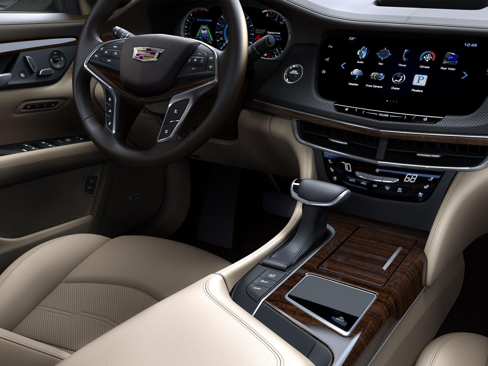 Cadillac CT6 interier