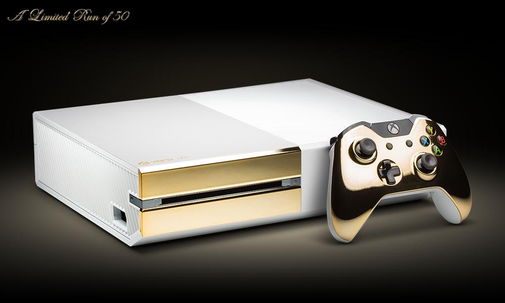 Limitovaná edice 24K Xbox One Pearl