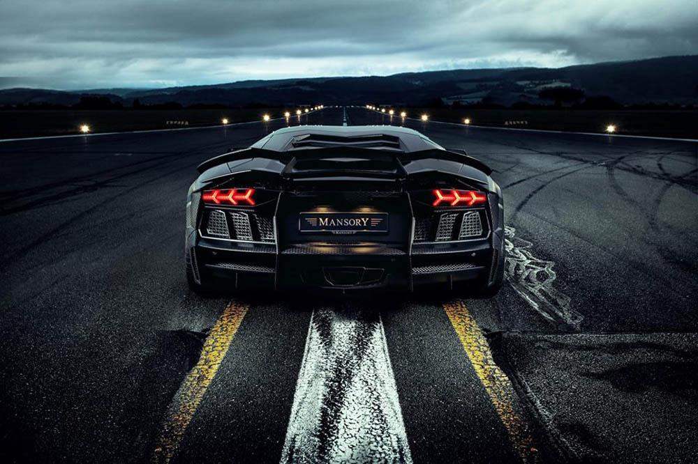 Mansory Carbonado Black Diamond Lamborghini Aventador LP700-4