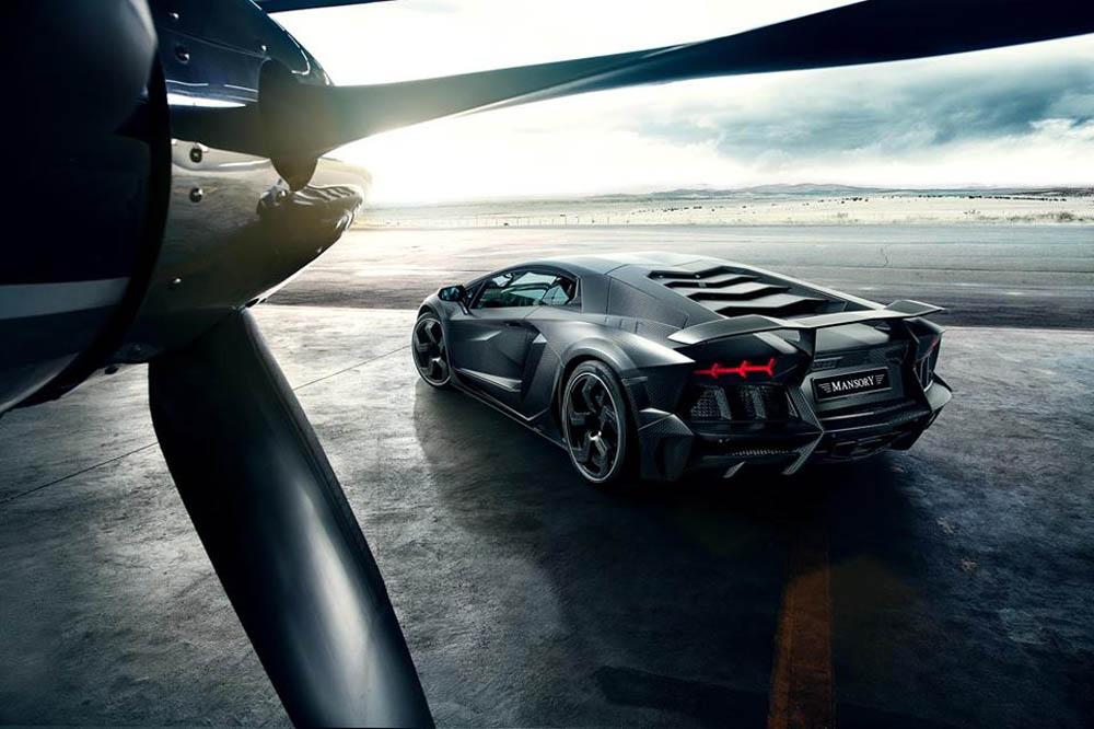 Mansory Carbonado - Lamborghini Aventador LP700-4 Black Diamond