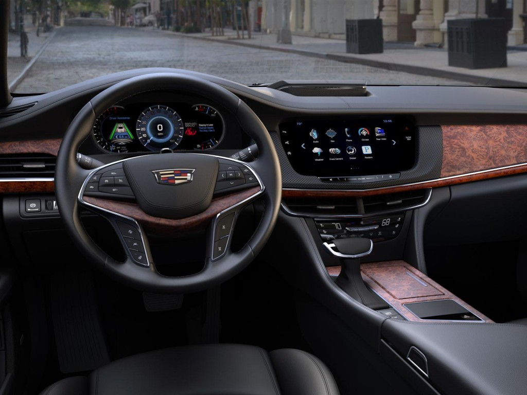 interier Cadillac CT6