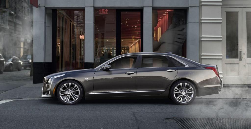 luxusni sedan Cadillac CT6