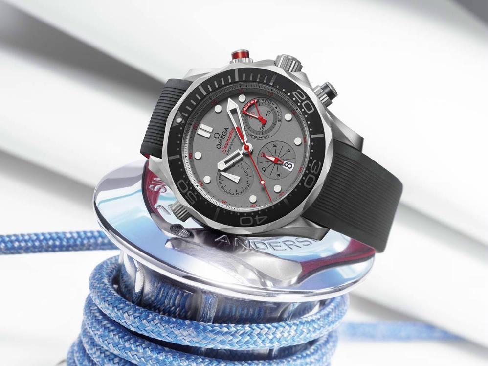 Luxusni hodinky Omega Seamaster Diver 300M ETNZ