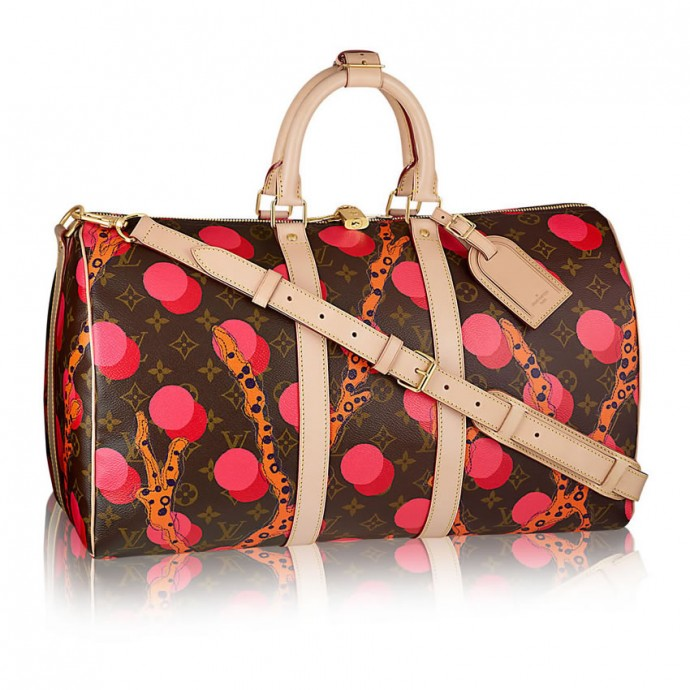 Taska Louis Vuitton keepall 45 ramages