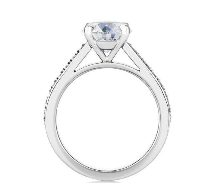 luxusni diamanatovy prsten De Beers - Old Bond Street