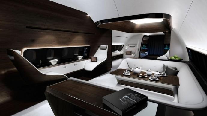 mercedes-benz lufthansa soukrome letadlo