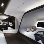 Luxusní soukromé letadlo Mercedes-Benz & Lufthansa