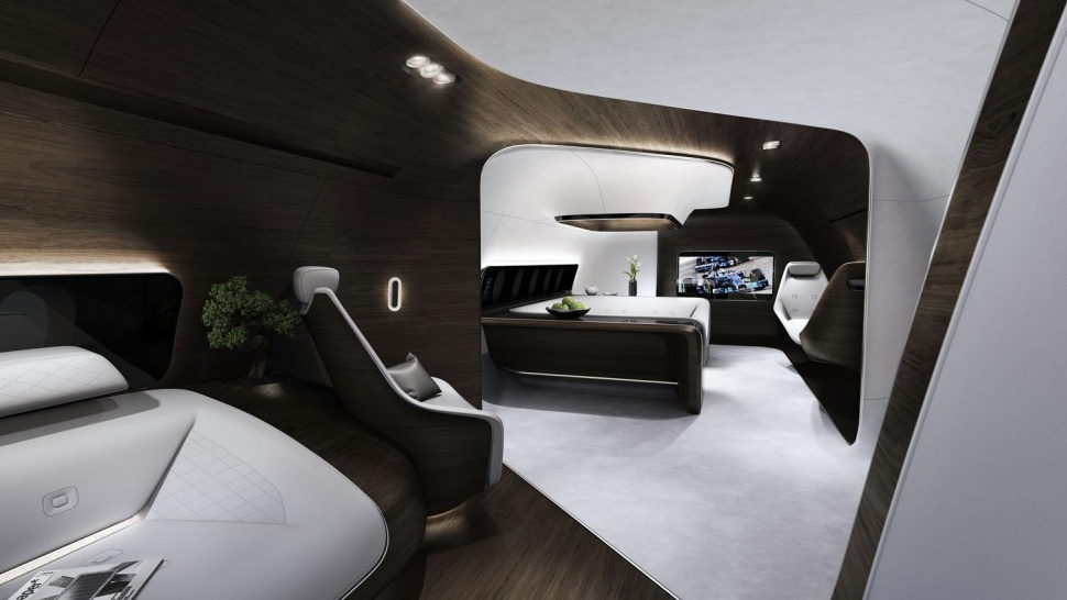 soukrome letadlo Mercedes-Benz Lufthansa