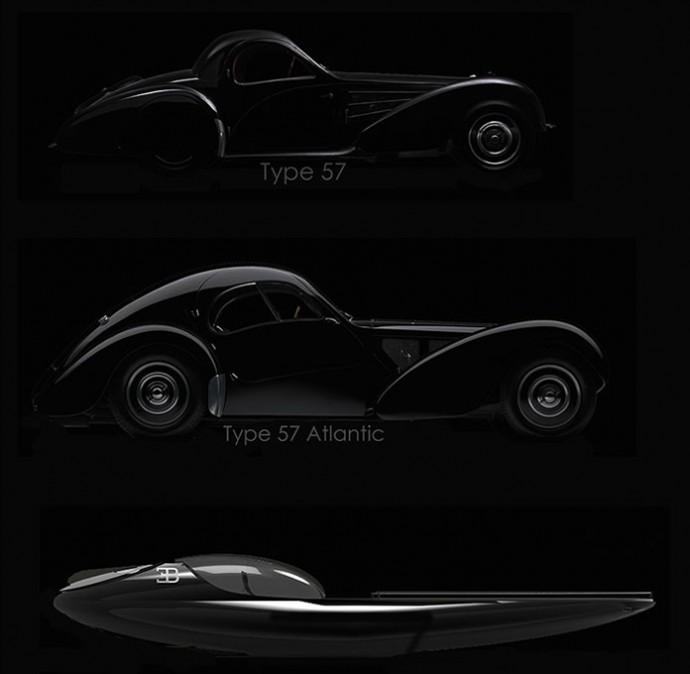 Bugatti Atlantean Racing Yacht - Bugatti Type 57 Atlantic