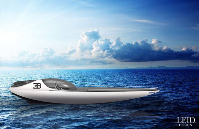 Bugatti Atlantean Racing Yacht luxusni jachta