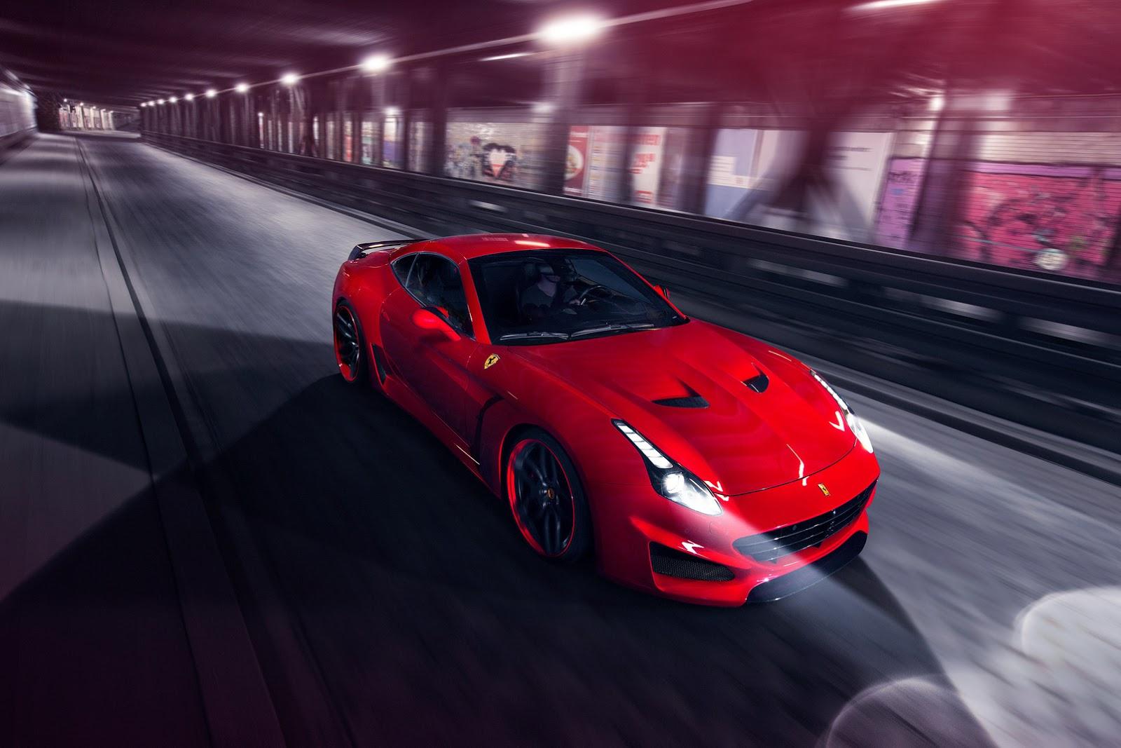 Ferrari California T N-Largo Novitec Rosso